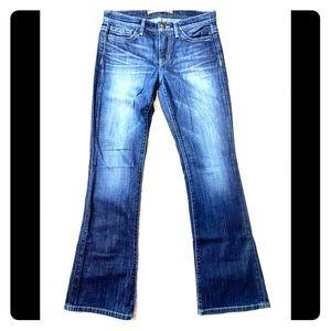 Joe's Jeans Provocateur Dark Denim Petite Cut